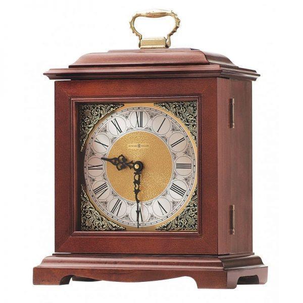 urne funéraire en bois d'érable Horloge acajou fonctionnelle