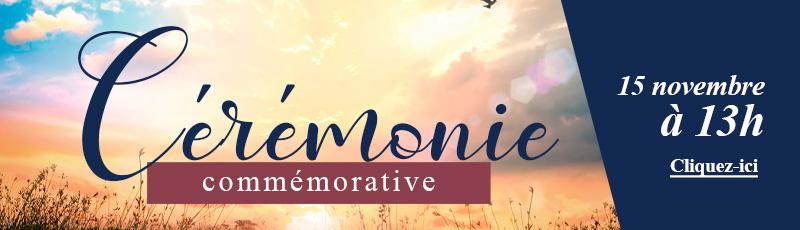 Cérémonie commémorative